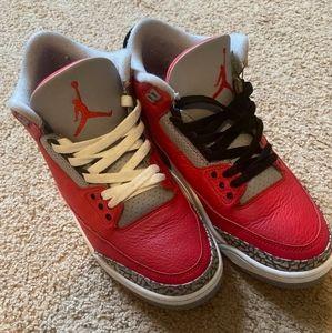 Jordan 3 'Red Cement'